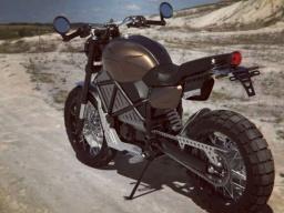 В Украине запускают в производство тяжелый электромотоцикл (ФОТО)