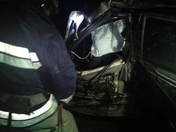 На Донбассе произошло смертельное ДТП: погибшего из авто вырезали спасатели (ФОТО)