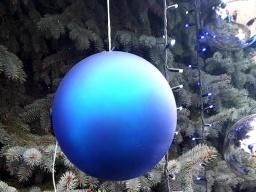 В Дружковке ограбили елку: Украли игрушек на 7 тысяч гривен (ФОТО)