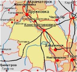 С какими селами объединится Константиновка?