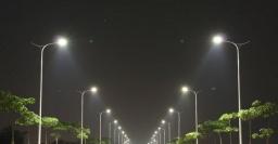 Как работает уличное освещение в Константиновке