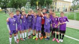 Юные футболисты Константиновки оформили чемпионство