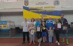 В Константиновке прошли соревнования «Мама, папа, я - спортивная семья»