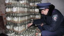 Проведение АТО не помеха для розлива водки