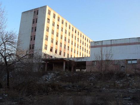 Контора бывшего завода Автостекло
