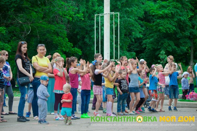 1 июня - «Эстафета добра» сквер «Театральный»