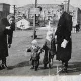 Бывший переезд по ул. Горького к хлебозаводу. 1949 год.