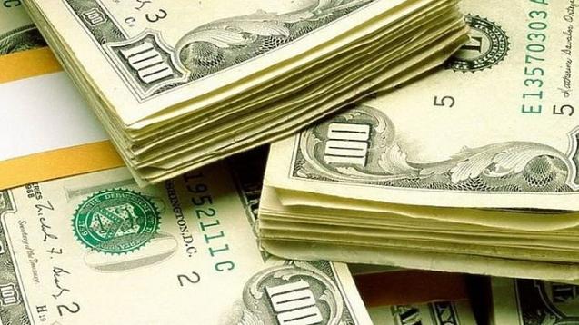 Доллар в обменных пунктах Украины вырос до 27,36 гривен