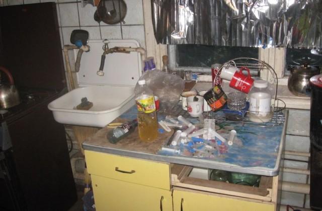 Работниками Константиновской полиции ликвидирован очередной наркопритон