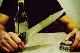 Полиция сообщила о подозрении жителю Константиновки за нанесение ножевого ранения мужчине