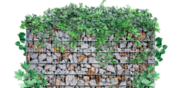 Габионы - современный элемент ландшафтного дизайна