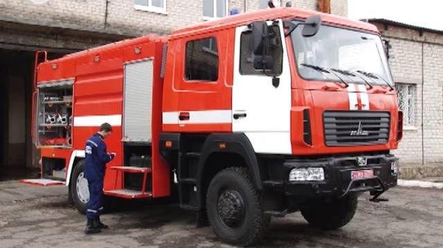 Константиновские спасатели ликвидировали «аварию» на хлораторной станции