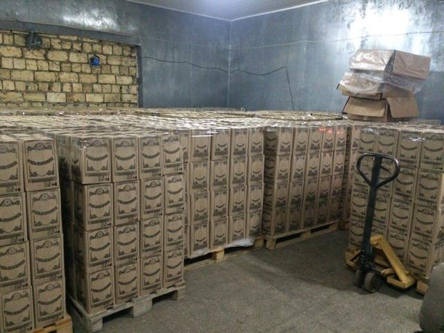 На Донетчине ликвидирован подпольный цех по изготовлению фальсифицированного алкоголя