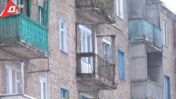 Власти Константиновки обеспокоены аварийными балконами