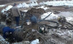 Устранением утечек и порывов на Втором донецком водопроводе
