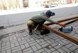 Неизвестный объект строится в Константиновке
