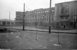 Здание горсовета - 1941 год