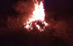 Пожары в Константиновке: Рассматривают версии об умышленном поджоге