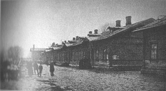 Коммунальное жильё - казармы в Константиновке