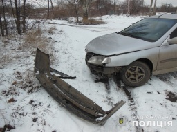 Полицейские проверяют обстоятельства ДТП в котором пострадала жительница Константиновки