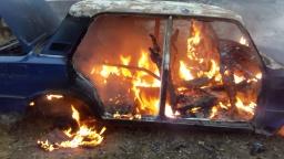 В Константиновке мужчина пострадал из-за пожара в автомобиле