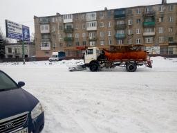Зимнее содержание дорог в Константиновке: Денег пока нет