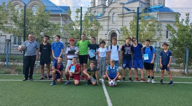 Футбольное сражение в Константиновке выявило сильнейших