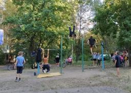 Спортсмены–воркаутисты в Константиновке посвятили турнир Дню рождения города
