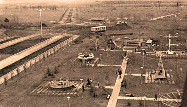История центрального парка культуры и отдыха (Константиновка)