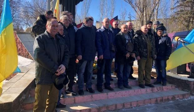 В Константиновке отметили 32-ю годовщину вывода войск из Афганистана