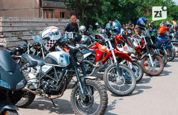 «Другая реальность»: В Константиновке впервые прошел рок-байкер-фестиваль (видео, фото)