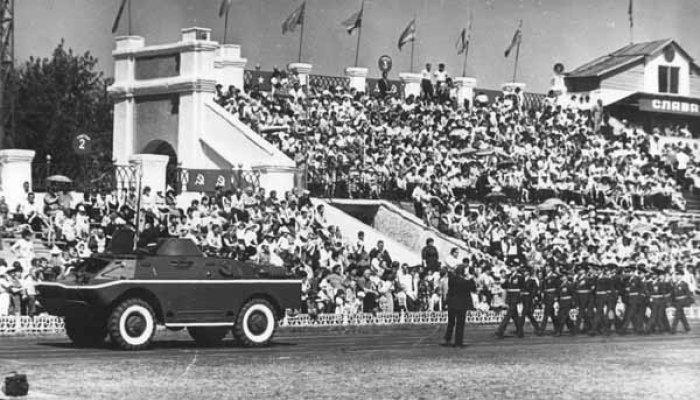Военный парад 1985 год