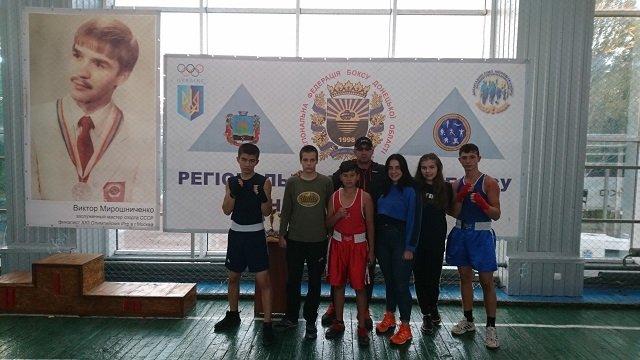Открытый Чемпионат Донецкой области по боксу