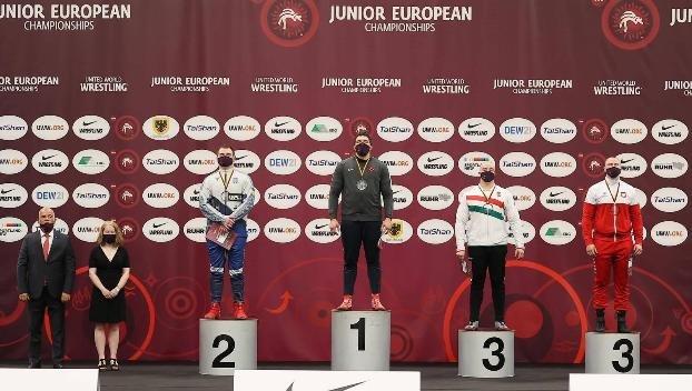На Чемпионате Европы по греко-римской борьбе успешно выступил спортсмен из Константиновки