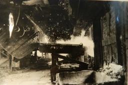Мартеновский цех  завода им. Фрунзе 1962 год