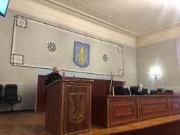 В Константиновке депутаты приняли решение относительно арендатора, на участке которого незаконно вырубили 21 дерево