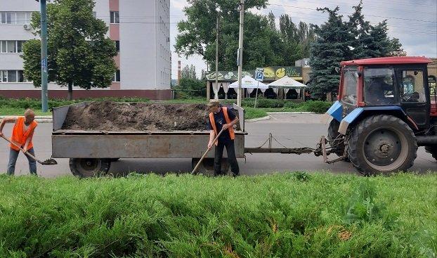Сделают ли чистой Константиновку дорожные бригады ГКП «Коммунтранс»