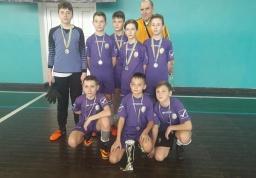 Юные спортсмены Константиновкой ОТГ – вице-чемпионы Донецкой области по футзалу
