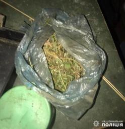Полицейские Константиновки изъяли наркотики у местного жителя