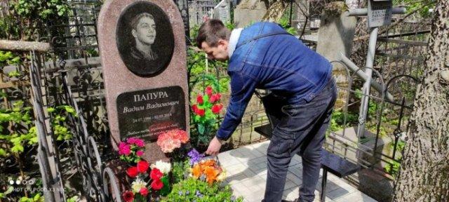 Одесское море цветов как дань памяти павшим героям