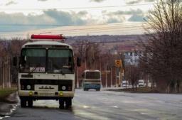 В Константиновке дачные автобусы изменят маршруты движения