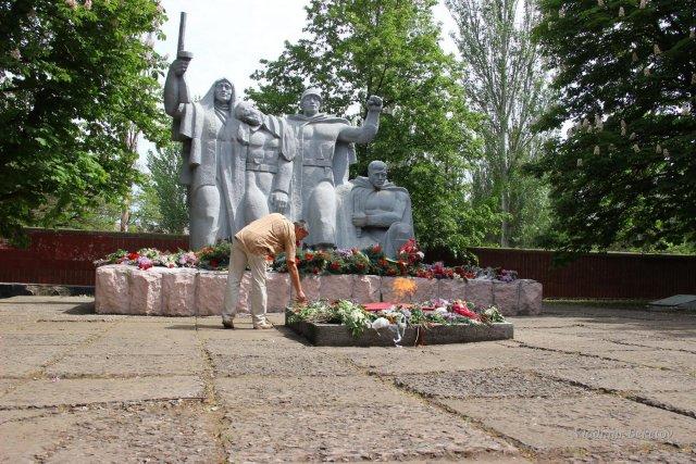 Группа могил советских воинов освободителей
