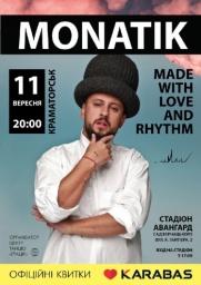 MONATIK. Made with love and rhythm