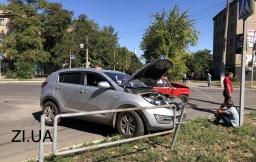 ДТП в Константиновке: ВАЗ-2101 врезался в KIA