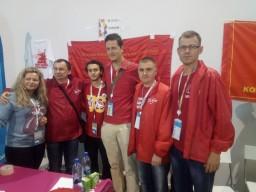 XIX Всемирный фестиваль молодежи и студентов: встречи делегации Комсомола Украины с зарубежными товарищами