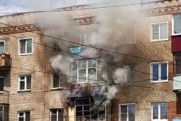 Во время пожара в Константиновке погиб мужчина