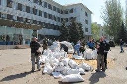 В Константиновке ДНР захватили гоисполком и милицию (ВИДЕО)