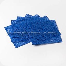 Дренажный коврик Лазурь синего цвета для обсушки сыров