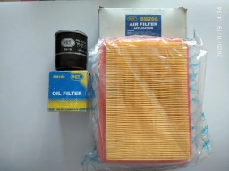 Фильтра Geely CK масляный+воздушный, SCT